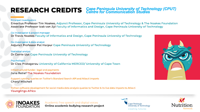 RESEARCH CREDITS Cape Peninsula University of Technology (CPUT) Centre for Communication Studies