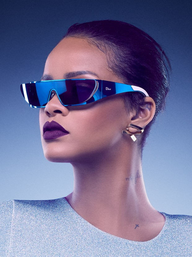 Rihanna brings futuristic eyewear for Dior collaboration