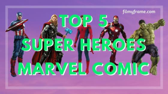 Marvel comics superheroes