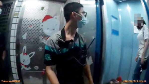婦人深夜受困驚魂電梯 田中警消聯手協助脫身