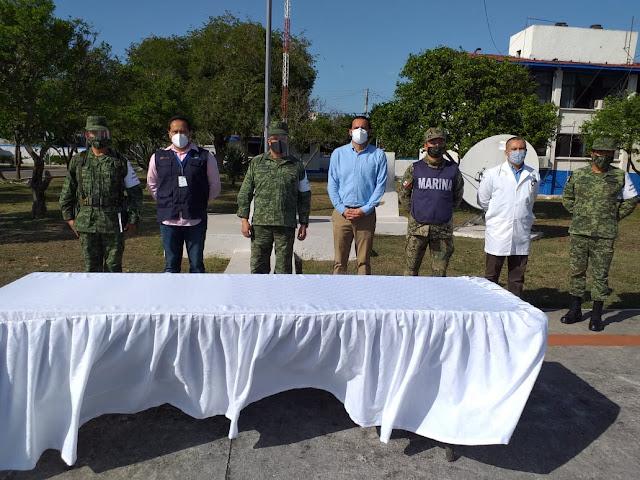 Llegaron a Yucatán 16,350 vacunas contra el COVID 19, para adultos mayores