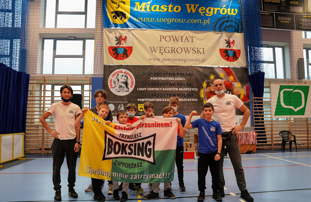 Ekipa SKF Boksing ZG-Węgrów 2020