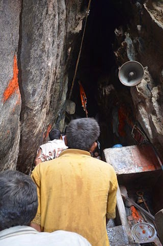 Main entrance of Parshuram Mahadev Cave temple