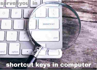 shortcut keys for computer