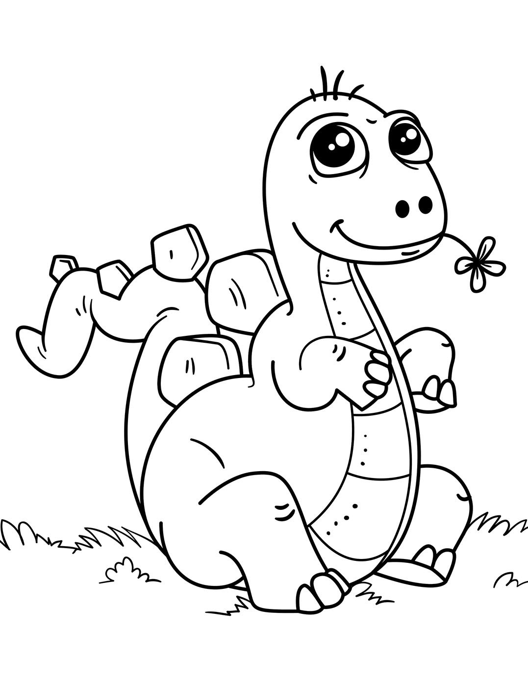 Dinosaurs coloring pages 53