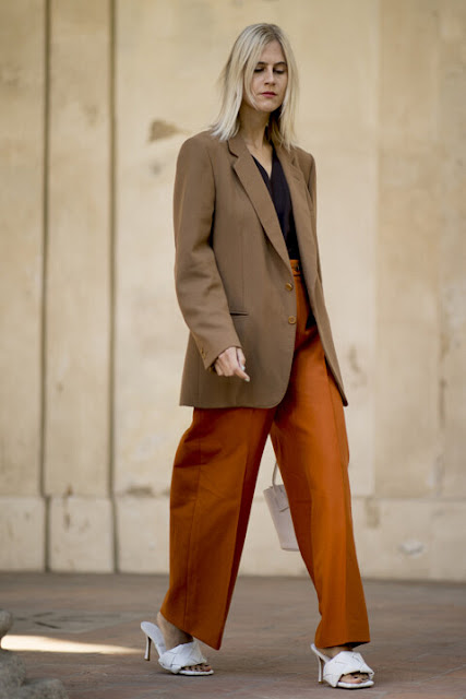 Стильный образ модные брюки 1-3