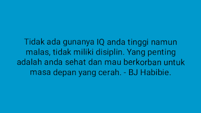 Quote habibie