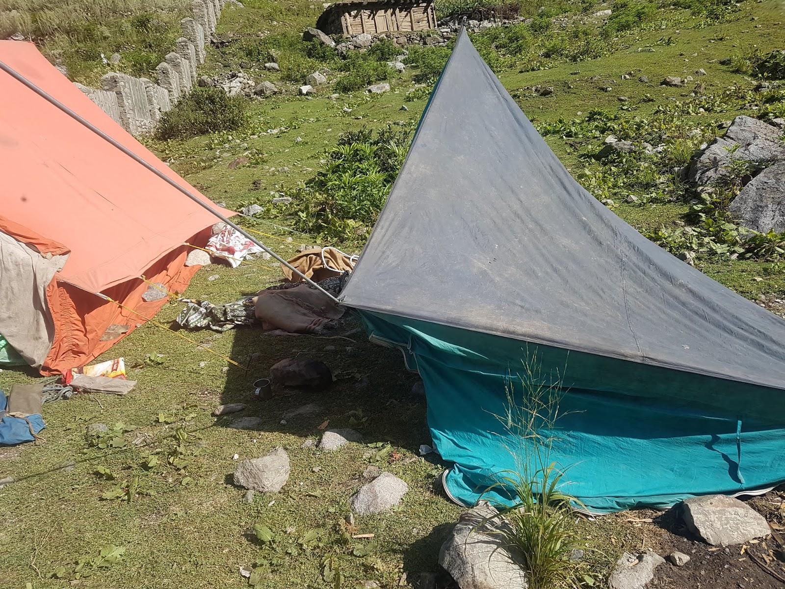 Camping in Naranag, Kashmir