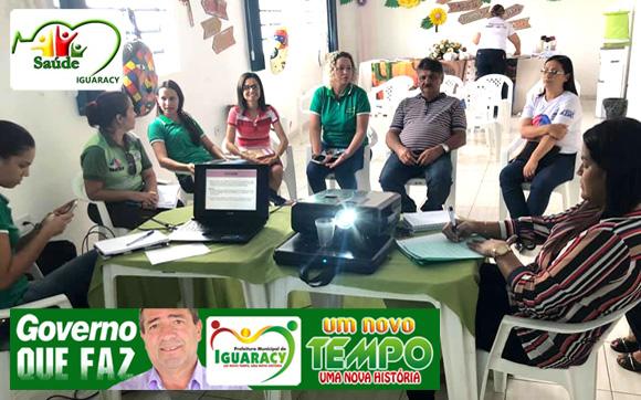 GOVERNO MUNICIPAL: Secretaria de Saúde de Iguaracy realiza planejamento para o ano 2019