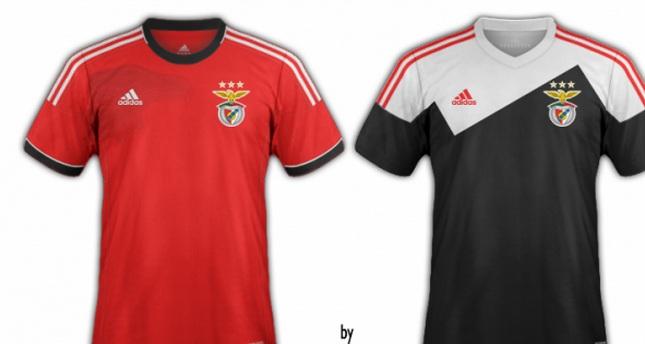 O Belo Voar da Águia  Benfica  Novo equipamento... 3e395e63c30
