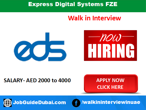 Express Digital Systems FZE career for Telemarketing Executive jobs in Dubai UAE