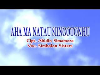 Lirik Lagu Batak Aha Ma Natau si Ingoton Hu