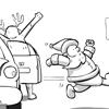 kartun perayaan