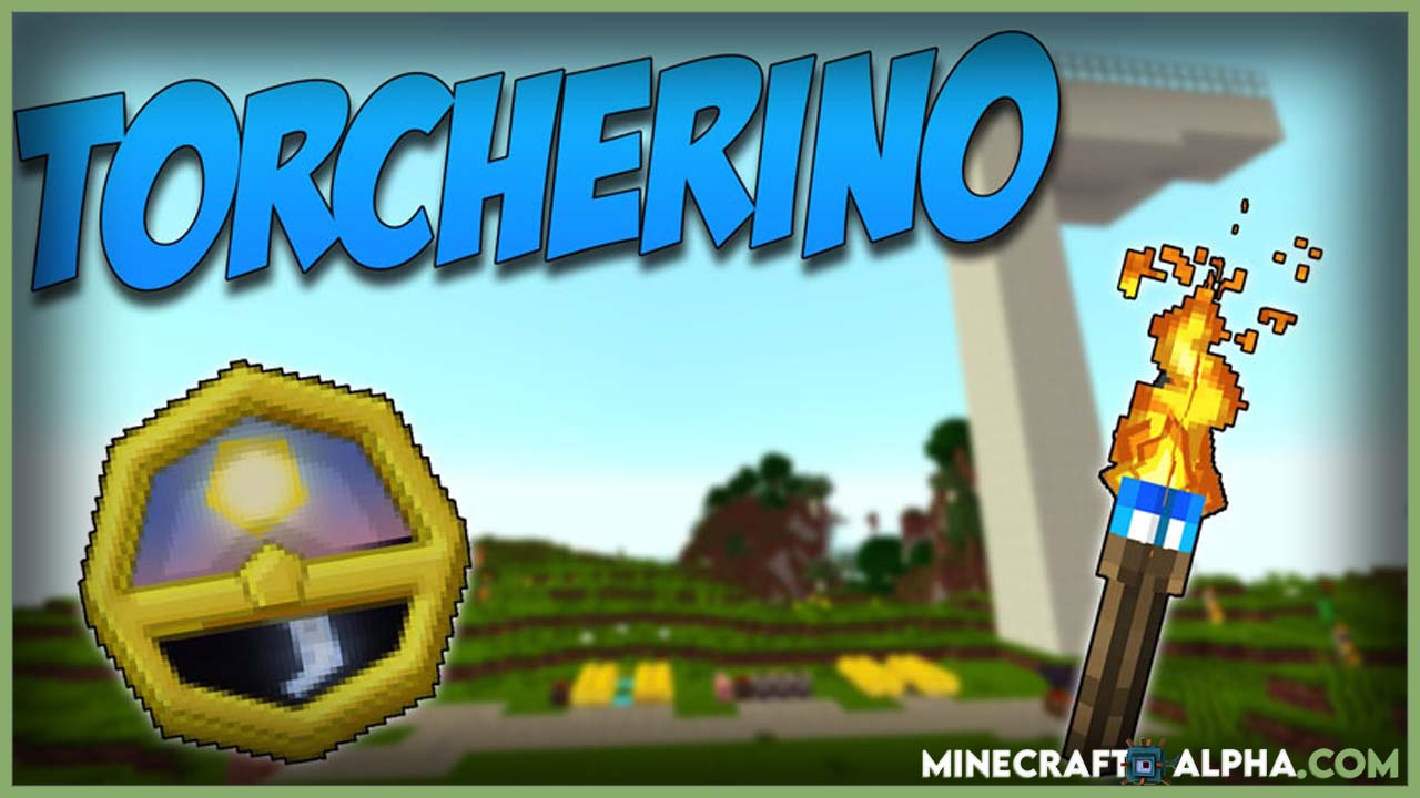 Minecraft Torcherino Mod 1.17.1 (Fastest Farm Ever)