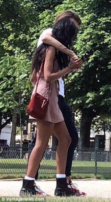 Malia Obama and boyfriend, Rory Farquharson pack on the PDA while out in Paris