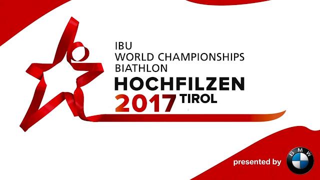 BIATLÓN - Mundial 2017 (Hochfilzen, Austria)