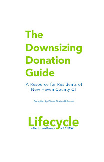 cover of Downsizing Donation Guide