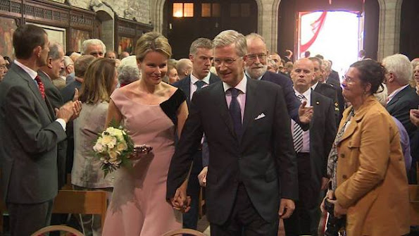 Queen Mathilde attended a concert organized by the Association of the Nobility