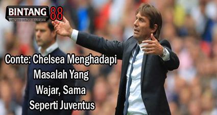 Conte: Chelsea Menghadapi Masalah Yang Wajar, Sama Seperti Juventus