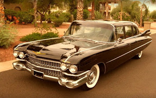 1959 Cadillac Fleetwood Brougham Limousine Front Left