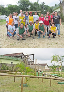 Mobilização Social de Miracatu implanta área de lazer no bairro Oliveira Barros