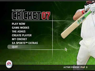 EA Cricket 07 Game Download Highly Compressed