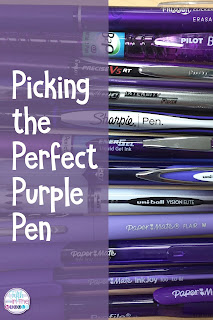 Which purple pen is best? Read my reviews and see if you agree!