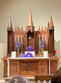 The Ongoing Evolution of a Newly Commissioned Traditional Altar
