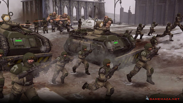Warhammer 40000 Dawn of War Winter Assault Gameplay Screenshot 4