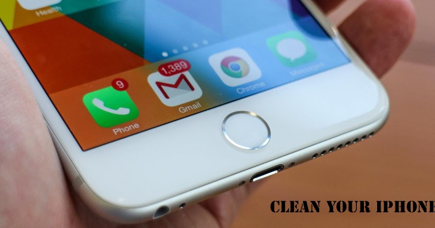 clean iphone storage 3 tips how to clean iphone junk files cache clear storage 7589