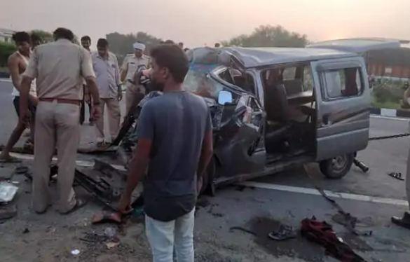 रीट परीक्षा देने जा रहे 6 परीक्षार्थियों की सड़क हादसे में मौत
