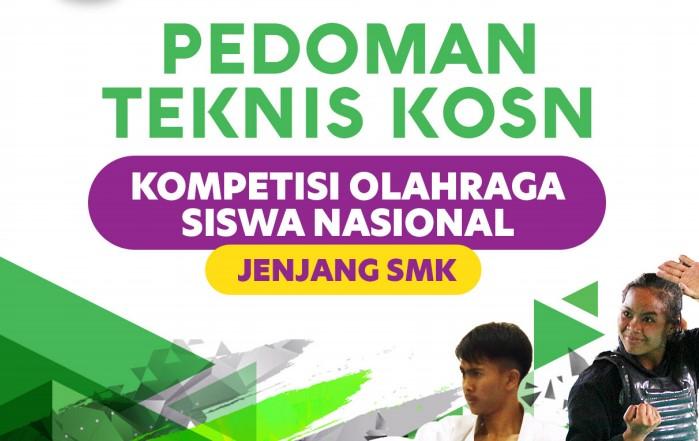 Pedoman KOSN SMK Tahun 2020 : Kompetisi Olahraga Siswa Nasional