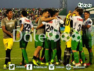 Oriente Petrolero - Festejo Copa Cine Center - Sport Boys vs Oriente Petrolero - DaleOoo.com web Club Oriente Petrolero