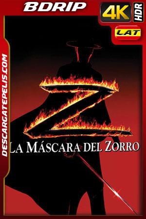 La mascara del Zorro (1998) 4k BDrip HDR Latino – Ingles