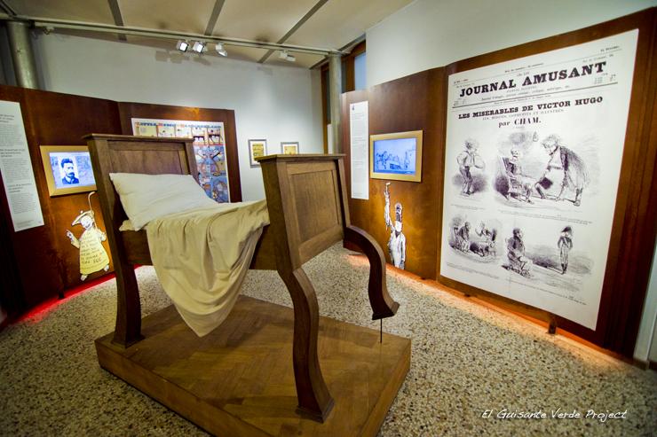 Museo del Comic, interior, Bruselas por El Guisante Verde Project