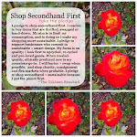 I pledge to shop secondhand first!