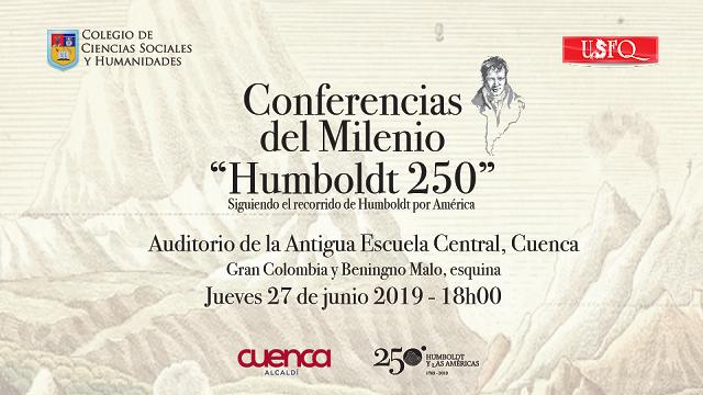 Cuenca es sede de las Conferencias del Milenio 'Humboldt 250'