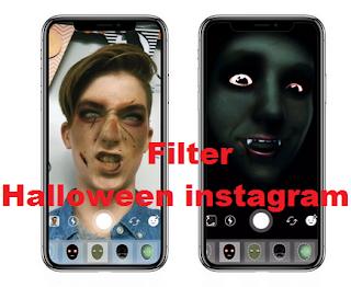 Halloween filter instagram - Cara mudah dapatkan Halloween filter ke Instagram Stories