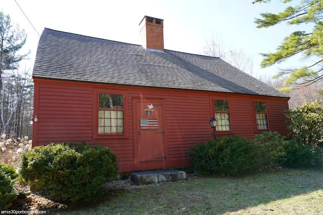 Casa en la Creció Samuel Wilson en Mason, New Hampshire
