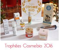trophées Cosmebio 2016