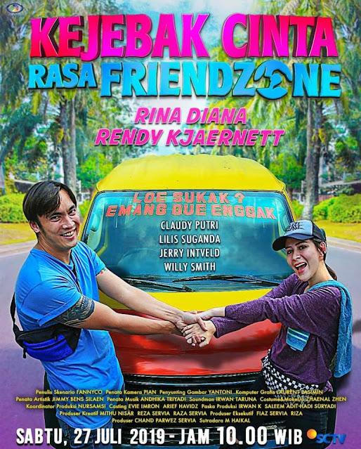 Nama Pemain FTV Kejebak Cinta Rasa Friendzone SCTV