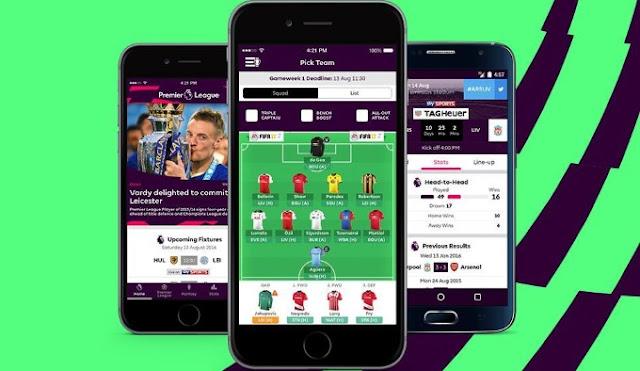 التطبيق الرسمي لمتابعة الدوري الإنجليزي على أندرويد وآيفون