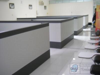 Partisi Kantor Kembangdjati + Furniture Semarang ( Sekat Ruang )