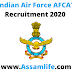 Indian Air Force AFCAT Recruitment 2020 | Apply Online