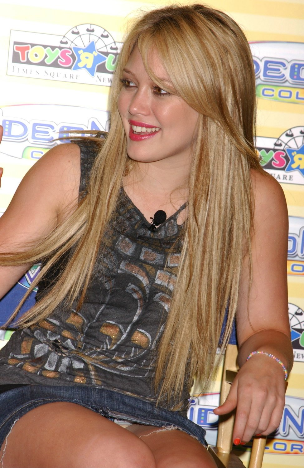 Hilary Duff With No Panties Pictures