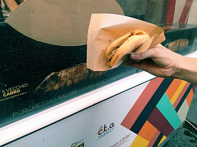 panino con suino nero dei nebrodi street food