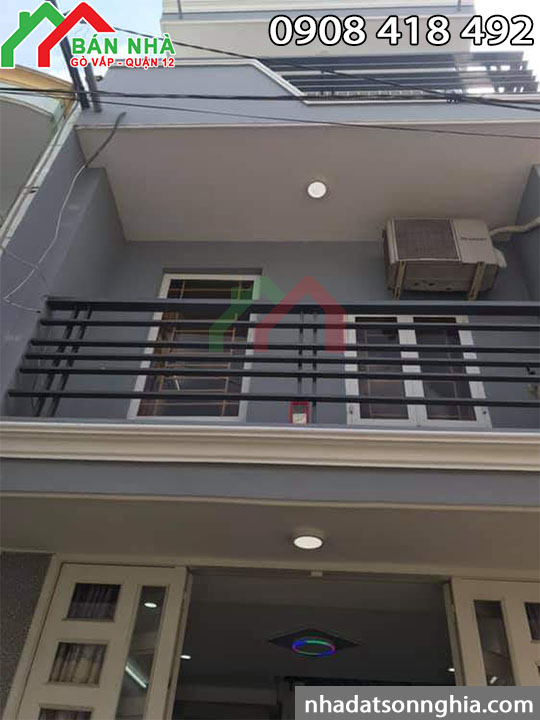 bán nhà Gò Vấp hẻm 49, đường số 52, phường 14