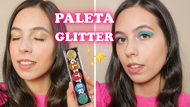 Resenha paleta de glitter Sp Colors!