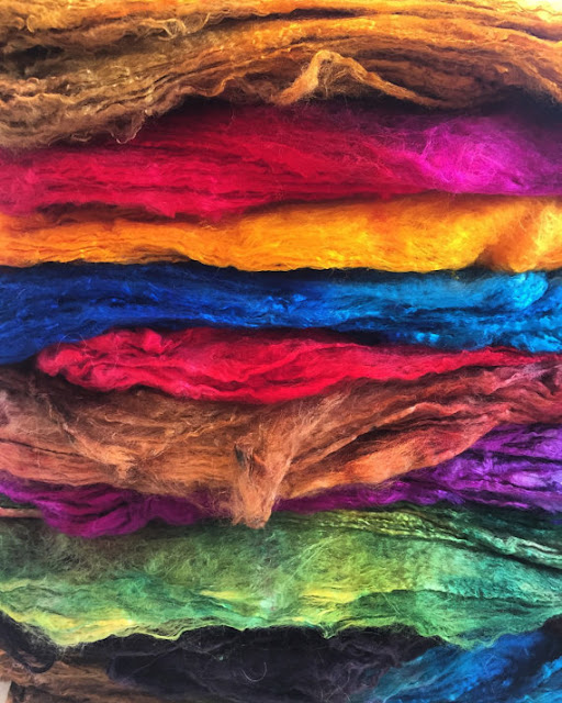 New from HeartFelt Silks - Felting Tools, Silk Supplies, and More