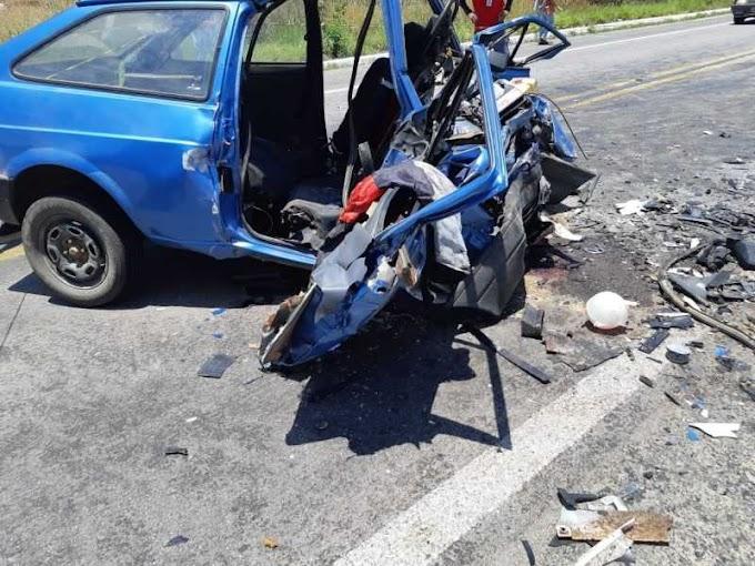 Paraibano morre em grave acidente automobilístico em PE